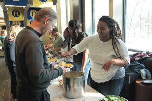 Black Student Union hosts Thanksgiving soul food meal