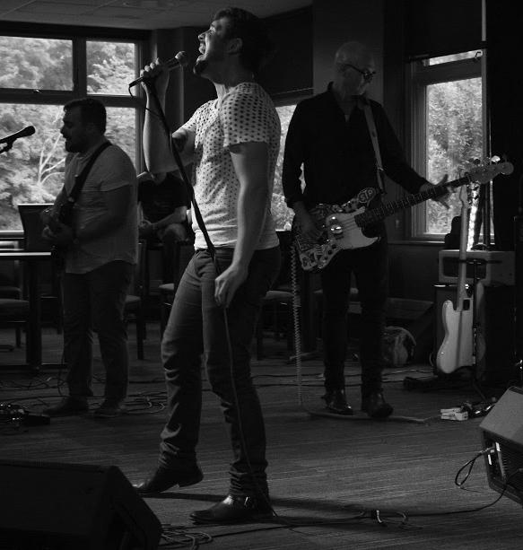 """Republic of Lights performs music from their album """"Go Rococo"""" at The Brew on Aug. 29.  Photo by Andrew Skalak."""