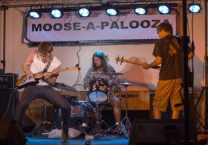 Wulfbriar performs improvisational blues at the Geneseo, Ill. Moose Lodge in 2014.