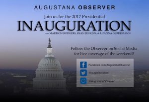 Join us for coverage of the 2017 Presidential Inauguration in Washington D.C. Graphic by: LuAnna Gerdemann